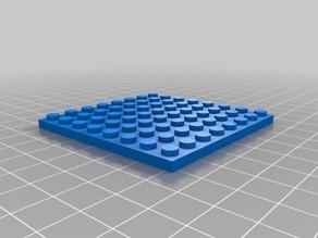 8x8 2 My Customized Parametric Lego Brick