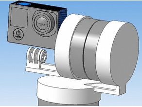 """3D model """"2-Axis Suspension for TimeLapse Photography"""""""