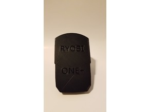 Ryobi Charger Cover Solid Notched
