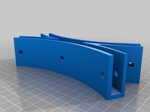 12in PVC attachment bracket