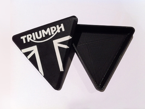 Triumph Motorcycle branded trinket box