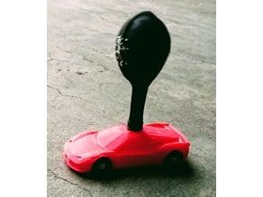 Ferrari 458 Balloon Car