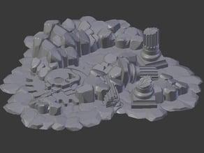 Sci-Fi Rocky Ruin