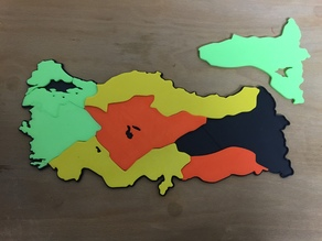 Turkey Maps Puzzle