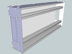 Eurorack Lasercut Case 104HP 5U 83mm