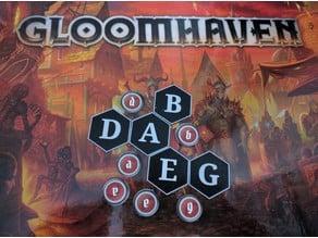 Gloomhaven Legible Scenario Markers