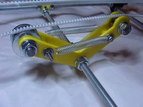 Automatic belt tensioner for RepRap Prusa Mendel