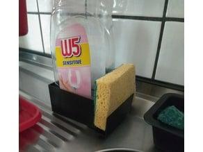 Support pour produit vaisselle / éponge
