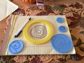 3D Printing Today Spirograph