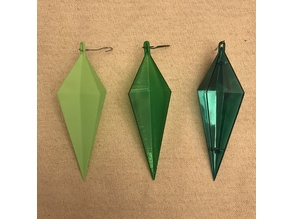Vintage (early 1970's) Icicle Christmas Tree Ornament