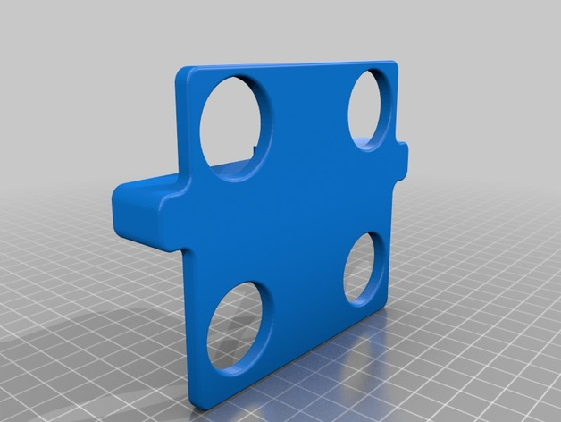 Aquarium dosing pump holder by Catanil - Thingiverse