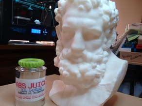 Marble Head of Herakles (near life-size)