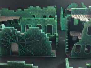 """Bizarrchitecture"" Arcane Ruins (15mm scale base set)"