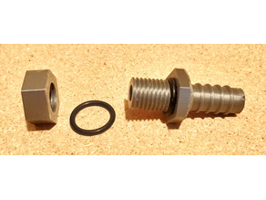 Bulkhead Fitting, Hose Adapter for Water Barrel