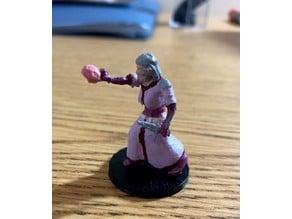 Female Elf Warlock