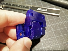 Improved open hinge for QIDI printer