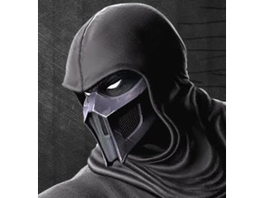Noob Saibot Mortal Kombat Mask Option 1 & 2