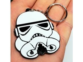Stormtrooper Keychain