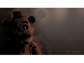 Freddy fazbear Head