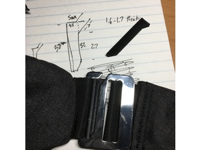 sling bag clip lock mechanism insert