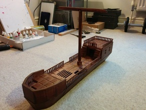 D&D Medium Ship (Playable Terrain)