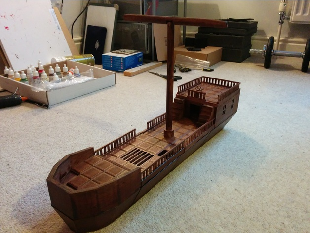 D&D Medium Ship (Playable Terrain) by Tecwyn - Thingiverse
