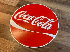 Coca Cola sign Dual color