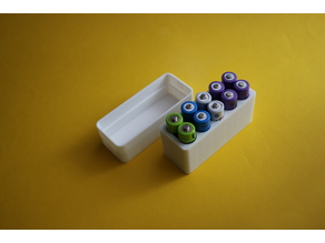 AA Battery Box for 10 pcs
