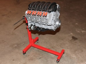 Chevy Camaro LS3 V8 Engine - Scale Working Model