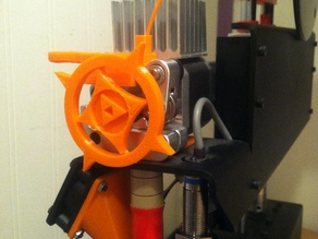 Printrbot Simple Metal Triforce Feedwheel