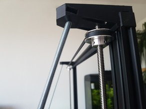 Creality CR 10 500mm 300mm Frame Braces, spool holder and control box support