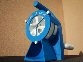 Air Raid Siren - hand crank version