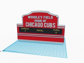 Custom Wrigley Field Sign #ChicagoCubs