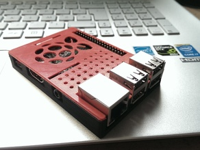 Raspberry Pi case (model B+ / 2 / 3)