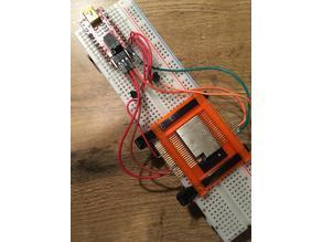 ESP32-WROVER socket