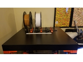 Lack Enclosure Filament Slot Guide