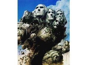 Mt Rushmore Golem