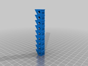 Temperature Calibration Tower for Anycubic PLA