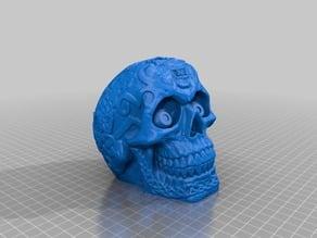 Celtic Skull with Spine Base JMU remix