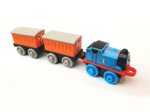 Thomas minis: Annie & Clarabel coaches
