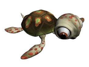 Baby Tortoise Cartoon
