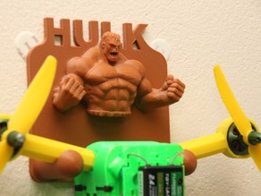 T4 Mini Quadcopter Wall Mount - HULK