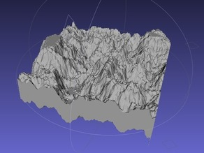 Height Maps in Banate CAD