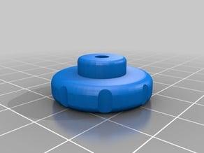 M3 knob, diameter 25 mm