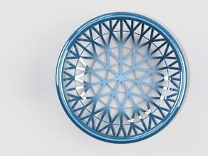 patterned basket