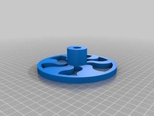 Co2 car wheel