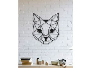 Cat Wall Sculpture 2D II