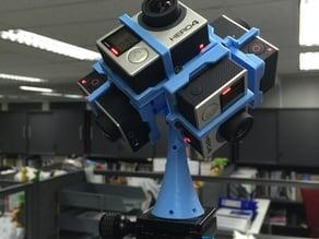 GoPro Hero 3/4 360 Spherical Rig