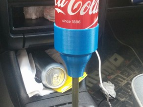 Can holder shifter knob
