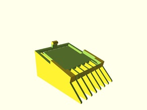 Trimmer comb for Phillips Multigroom 3000